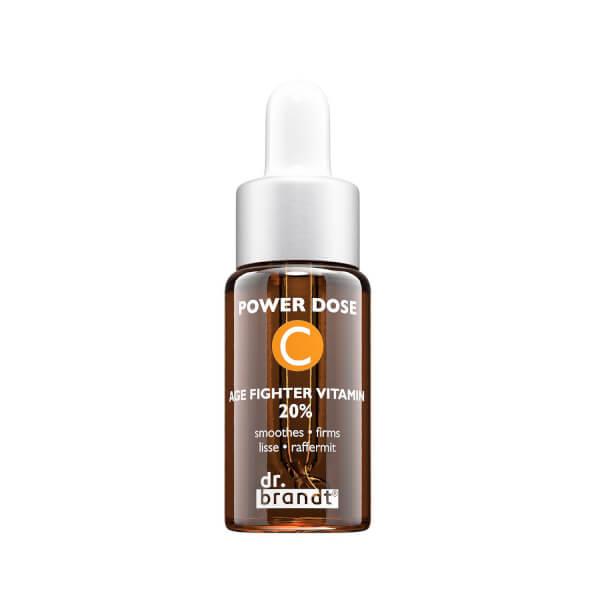 Sérum facial anti-envejecimiento Power Dose Vitamin C Age Fighter de Dr. Brandt (16,3 ml)