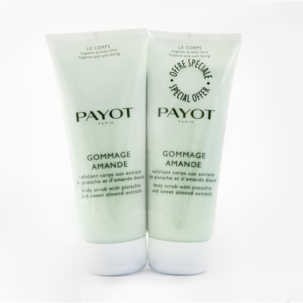 PAYOT Gommage Amande Duo - Body Scrub with Almond and Pistachio 400ml