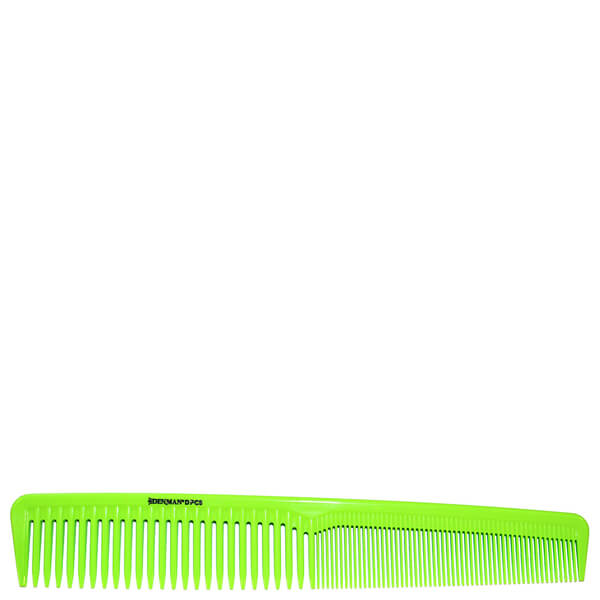 Denman Precision Waver Comb - Lime Green