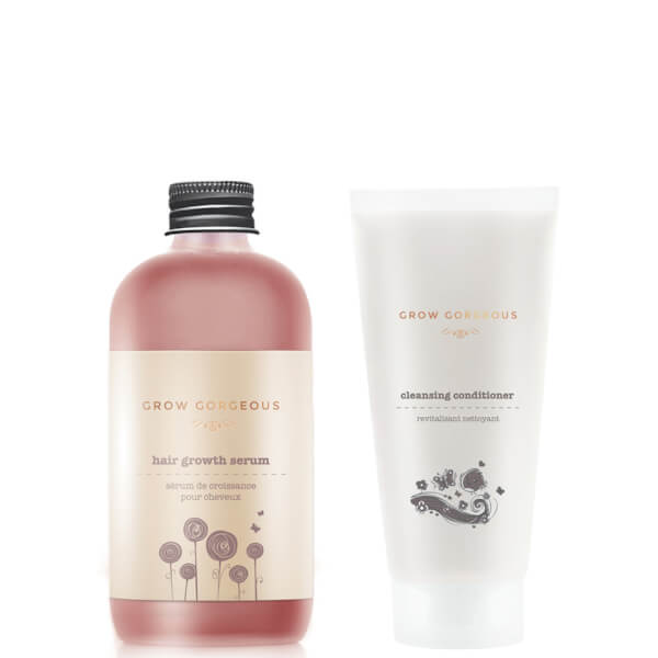 Grow Gorgeous Hair Growth Serum and 11-in-1 Cleansing Conditioner (Worth £48)