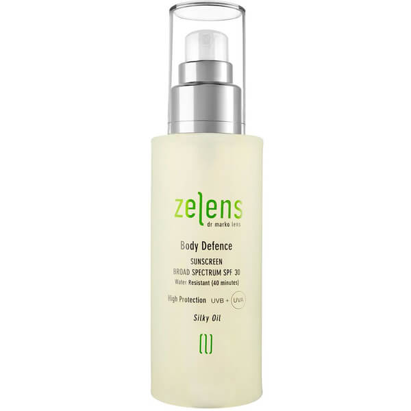 Zelens Body Defence Sunscreen SPF 30 125ml