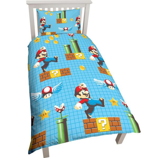 Mario Single Duvet Cover Set