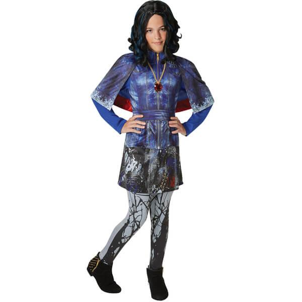 Disney Descendants Girls' Deluxe Evie Fancy Dress
