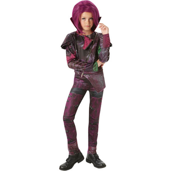 Disney Descendants Girls' Deluxe Mal Fancy Dress