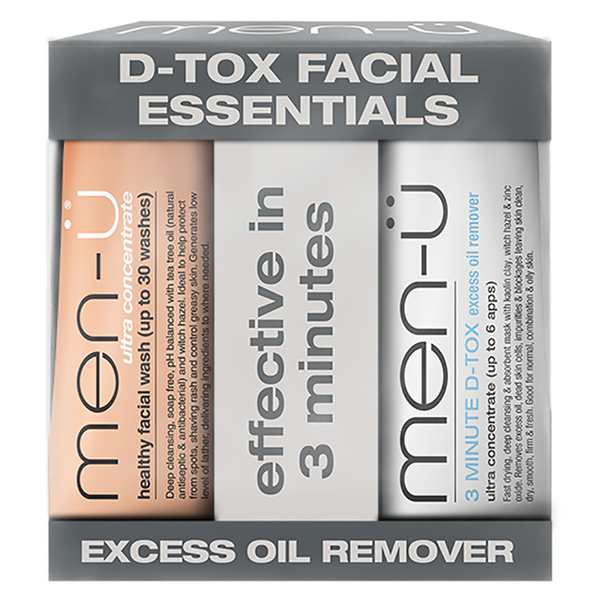 men-ü D-Tox Facial Essentials (15ml)