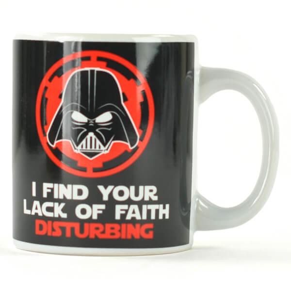 Lack of Faith Star Wars Mug