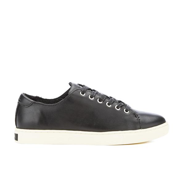 Ralph Lauren Waverly Womens Black Sneakers