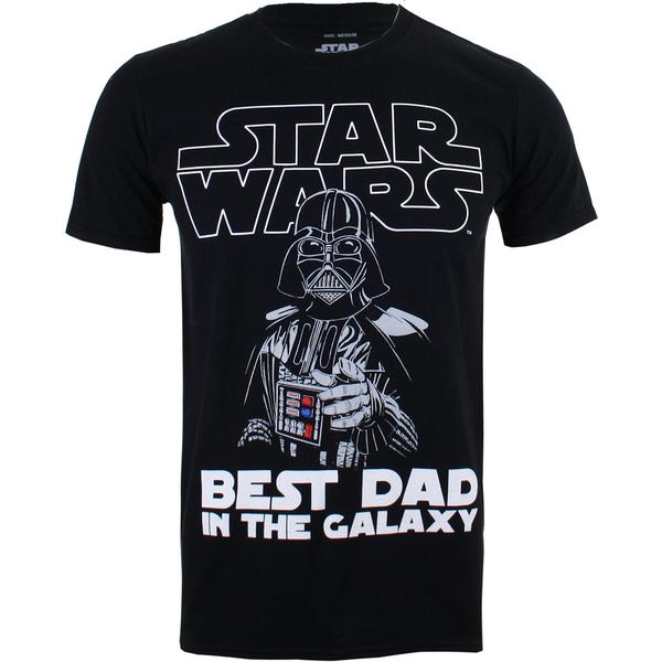Star Wars Men's Vader Best Dad T-Shirt - Black