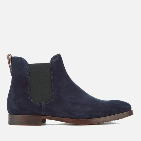 Polo Ralph Lauren Men's Dillian Suede Chelsea Boots - Navy: Image 1