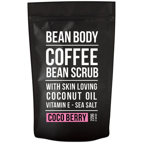 Gommage aux grains de café Bean Body 220 g - cocoberry