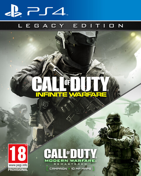 Resultado de imagen para call of duty infinite warfare legacy edition ps4