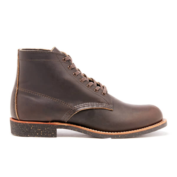 Red Wing Men's 6 Inch Moc Toe Leather Lace Up Boots - Chrome - UK 7/US 8 89vmenIe7