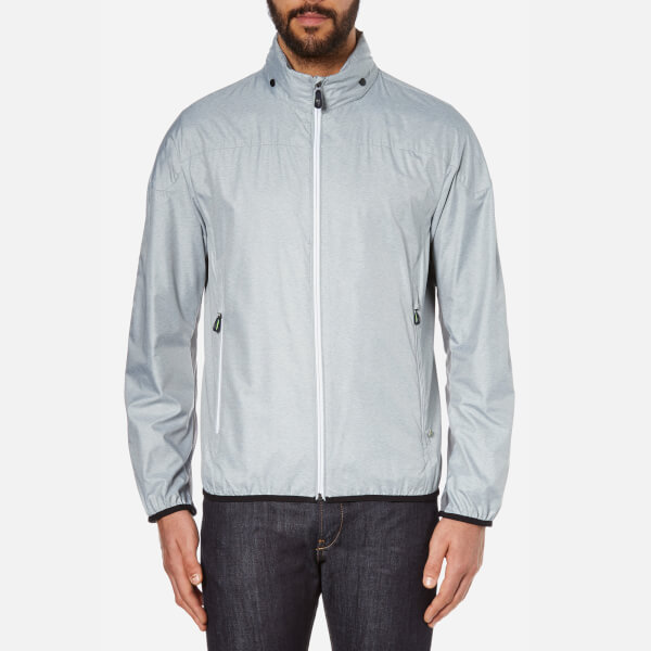 BOSS Green Men's Jiano Zipped Jacket - Grey