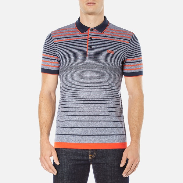 BOSS Green Men's Paddy 3 Polo Shirt - Blue