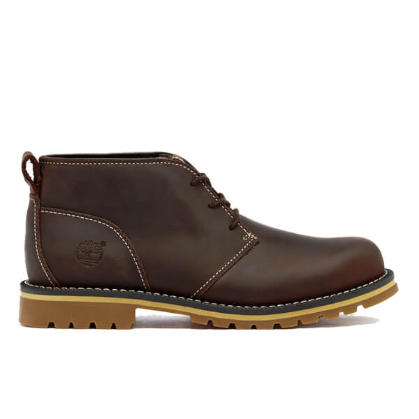 Timberland Men s Grantly Chukka Boots - Dark Brown  Image 1 1a7cbeb9a7fc