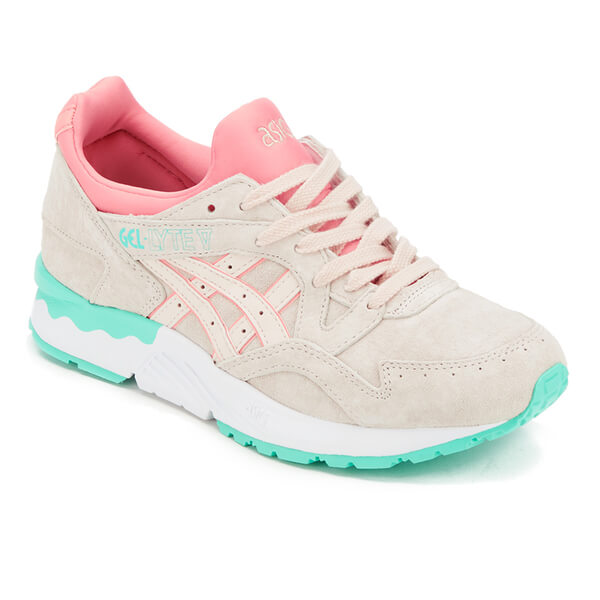 Asics Women's Gel-Lyte V Trainers - Whisper Pink: Image 2