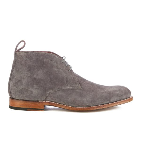 Grenson Men's Marcus Suede Desert Boots - Charcoal