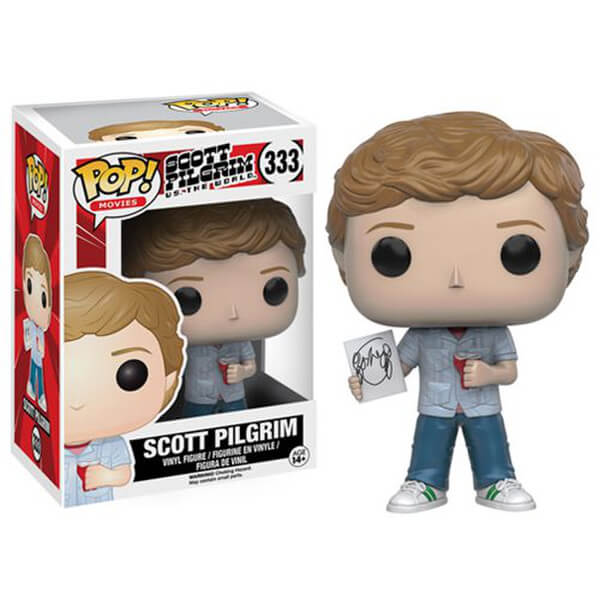 Scott Pilgrim vs. The World Scott Pilgrim Pop! Vinyl Figure