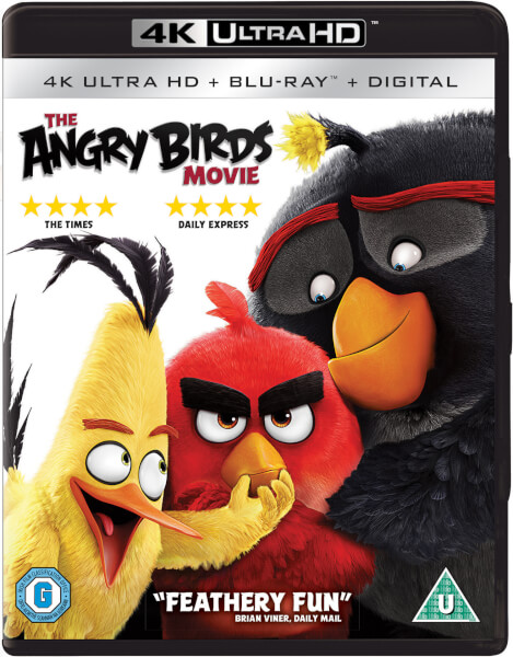 Angry Birds : Le Film - 4K Ultra HD