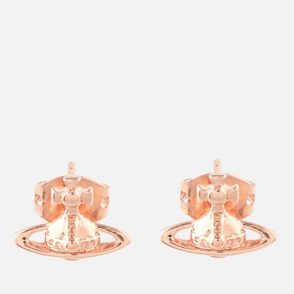 Vivienne Westwood Jewellery Women's Lorelei Stud Earrings - Pink Gold