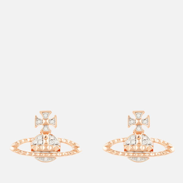 Vivienne Westwood Jewellery Women's Mayfair Bas Relief Earrings - Crystal