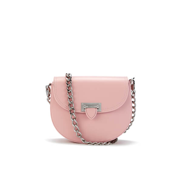 Aspinal of London Women's Portobello Mini Saddle Bag - Rose Dust