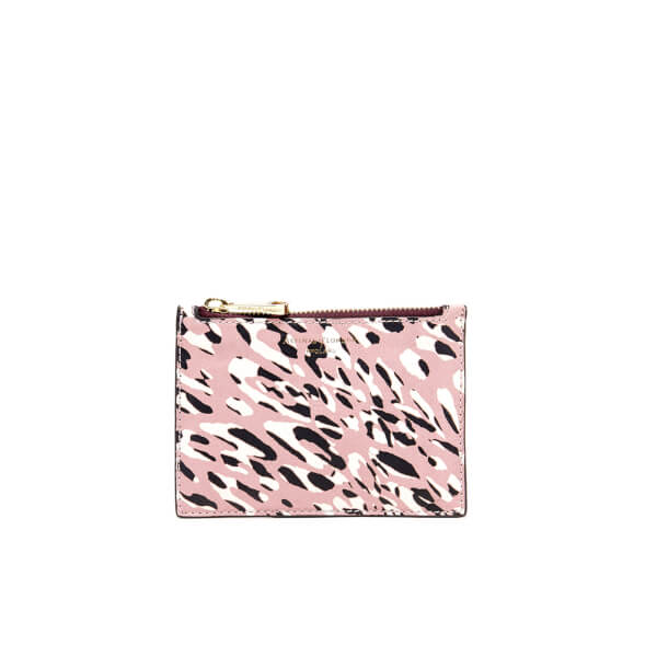 Aspinal of London Women's Essential Small Pouch - Leopard