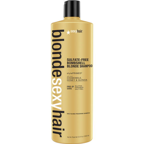 Sexy Hair Blonde Bombshell Blonde Shampoo 1000ml