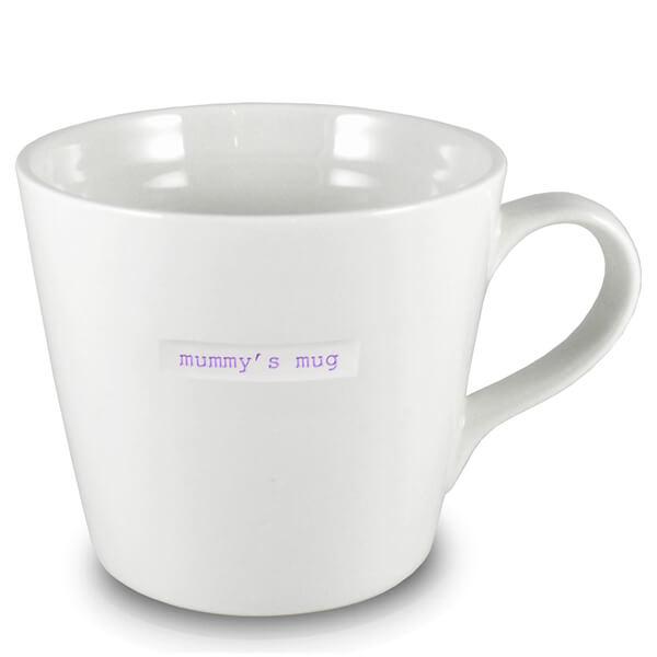 Keith Brymer Jones Mummy's Large Bucket Mug - White