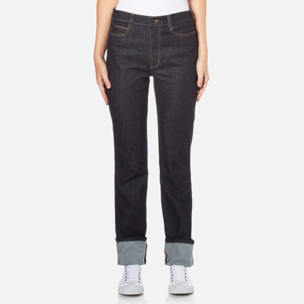 PS by Paul Smith Women's Turn Up Jeans - Blue