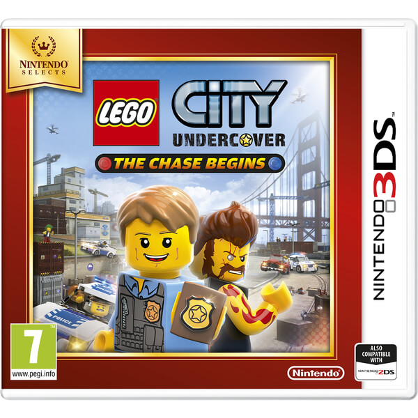 Nintendo Selects LEGO City Undercover: The Chase Begins