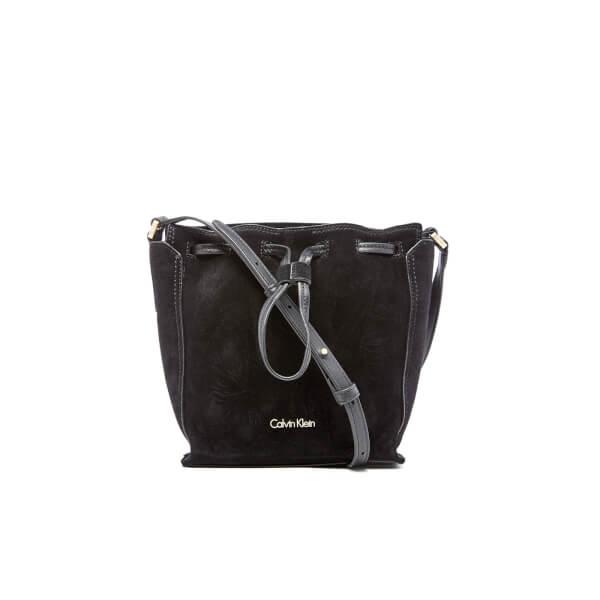 bbd5ea2d54 Calvin Klein Black Suede Purse - New image Of Purse