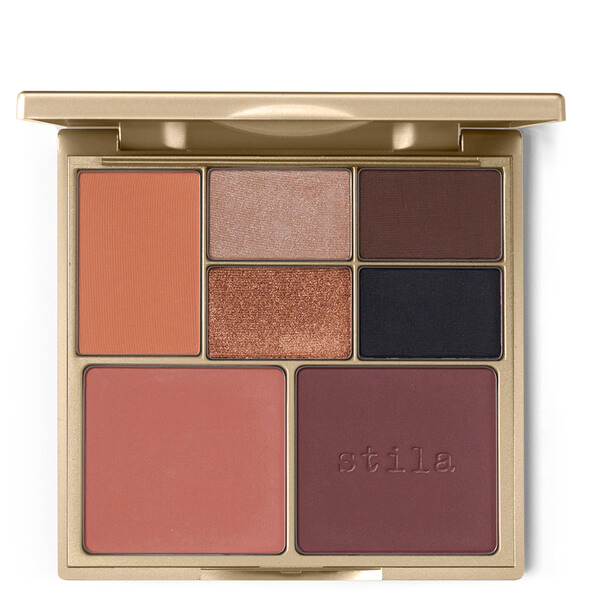 Stila Perfect Me, Perfect Hue Eye & Cheek Palette 14g - Tan/Deep