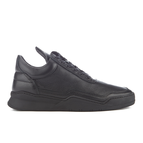 Filling Pieces Men's Jasper Low Top Trainers - Black