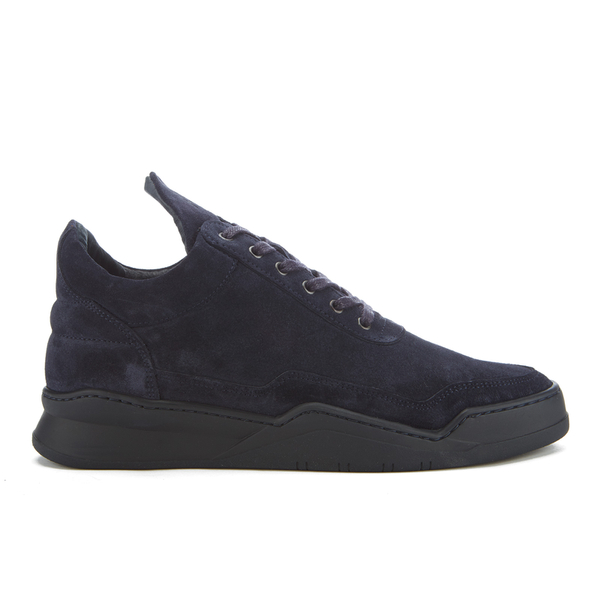 Filling Pieces Men's Ghost Low Top Trainers - Navy