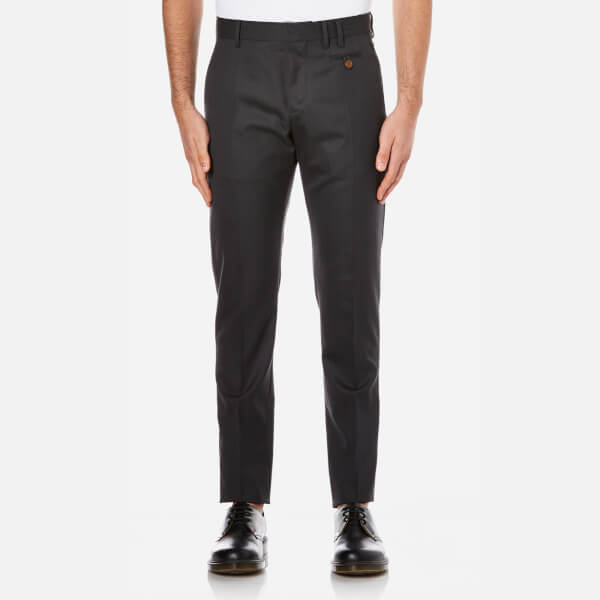 Vivienne Westwood MAN Men's Classic Wool Trousers - Smoky Black