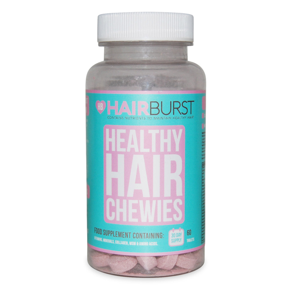 Hairburst Strawberry Chewable Vitamin - 60 capsules