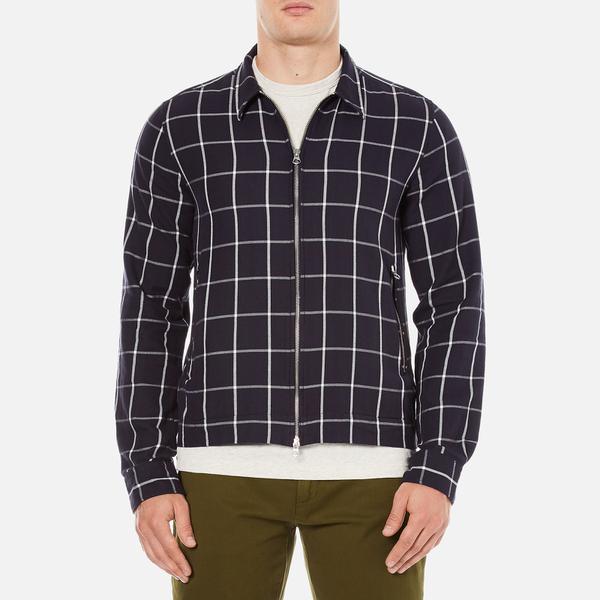 GANT Rugger Men's Brooklyn Twill Shirt Jacket - Marine
