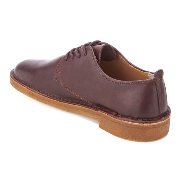 Clarks Originals Men's Desert London Derby Shoes - Nut Brown Leather: Image  4