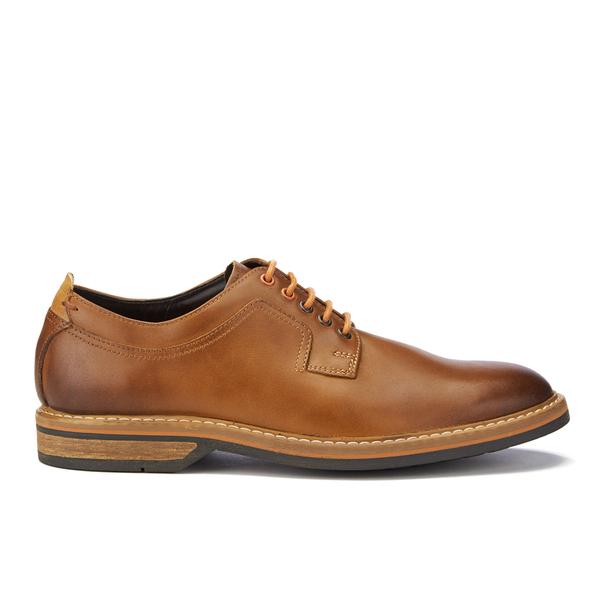 c4ca8fc3d Clarks Men s Pitney Walk Leather Derby Shoes - Cognac