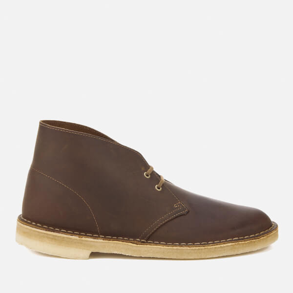 women's clarks desert boots beeswax leather