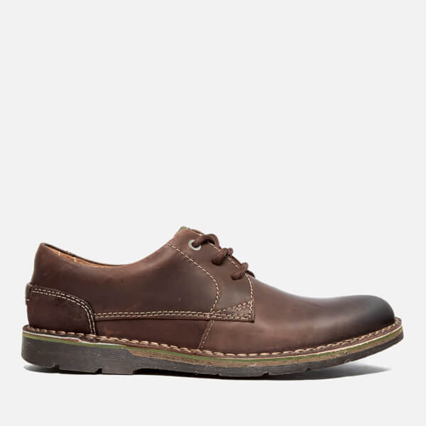 Clarks Men's Edgewick Plain Leder Schuhes Dark Braun   FREE FREE  UK ... ebc170