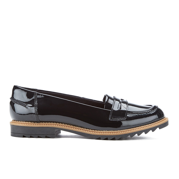 cb3e8dc4246 Clarks Women s Griffin Milly Patent Loafers - Black  Image 1