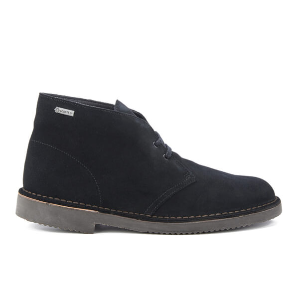 Clarks Originals Men's GORE-TEX Desert Boots - Black Suede: Image 1