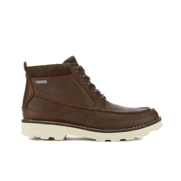 d56c0ce7e68 Clarks Men's Korik Rise GORE-TEX Leather Lace Up Boots - Tobacco: Image 1