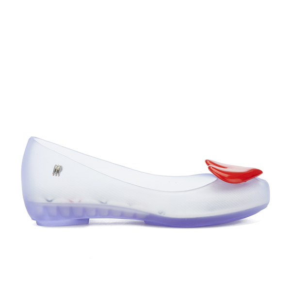 Mini Melissa Kids' Alice Ultragirl Ballet Flats - Clear Heart