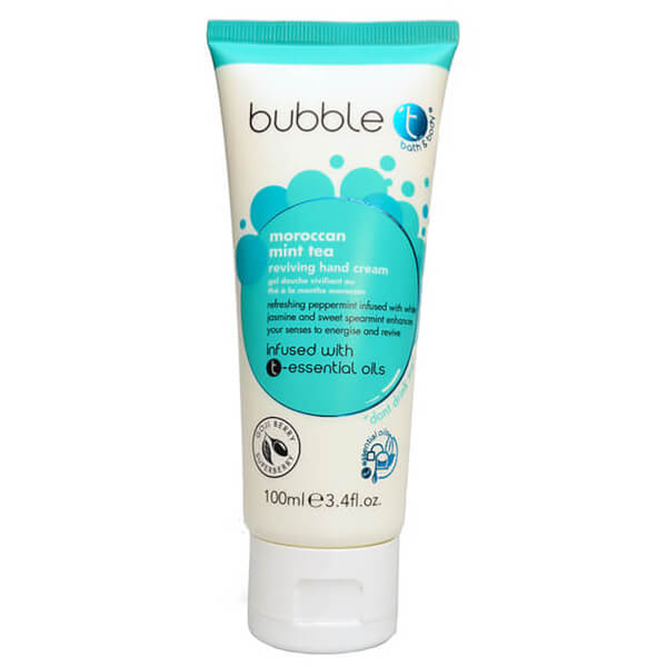 Bubble T Hand Cream - Moroccan Mint Tea 100ml