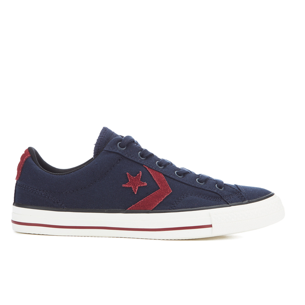 navy converse cons court star player