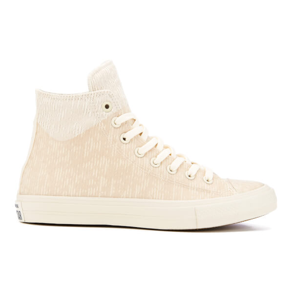 e11a41812604 Converse Men s Chuck Taylor All Star II Translucent Rubber Hi-Top Trainers  - Buff