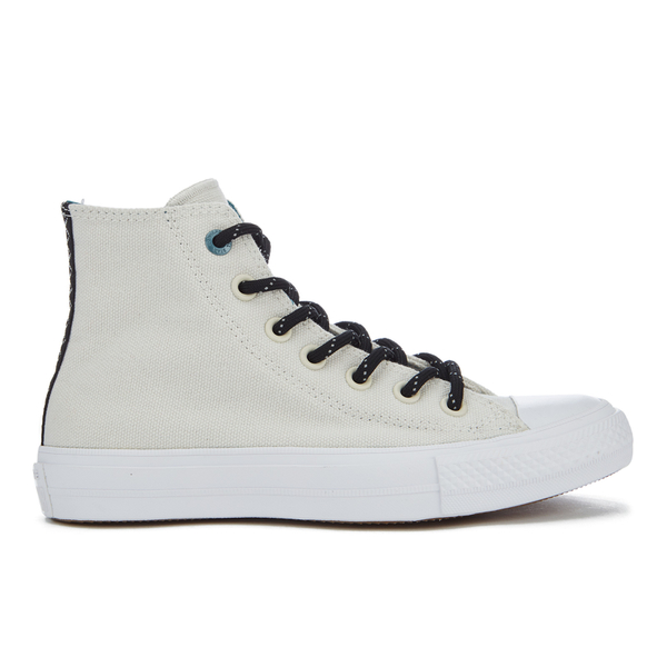 9d7528c46c55 Converse Women s Chuck Taylor All Star II Shield Canvas Hi-Top Trainers -  Buff